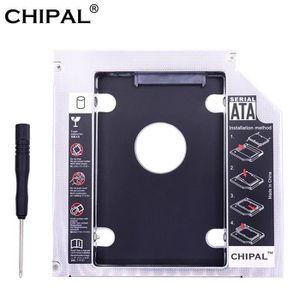 HOUSSE DISQUE DUR EXT. CHIPAL aluminium 2nd HDD Caddy 12.7mm SATA 3.0 Chi