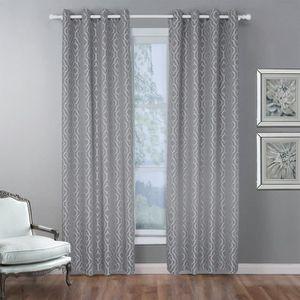 RIDEAU 1x rideaux occultants à œillets - 140 x 160 cm - G