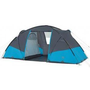 TENTE DE CAMPING JAMET Tente Pirée 4 - 4 Places - Bleu et Gris