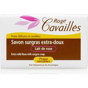 SAVON - SYNDETS Savon surgras extra doux lait de rose