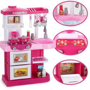 DINETTE - CUISINE Cuisine Enfant Dînette Vaisselle Set 35PCS Fille R