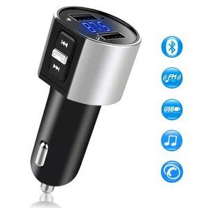 TRANSMETTEUR FM C26S Transmetteur FM Bluetooth pour voiture,Récept