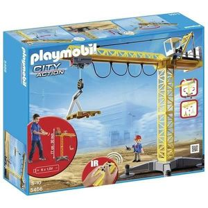 UNIVERS MINIATURE PLAYMOBIL 5466 Grande Grue de Chantier RC