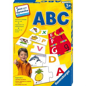 JEU D'APPRENTISSAGE ABC