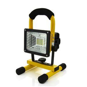 LAMPE DE CHANTIER Lumière d'inondation de Travail de LED Rechargeabl
