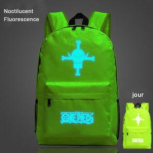 CARTABLE ONE PIECE-Sac à dos Noctilucent Fluorescence-carta
