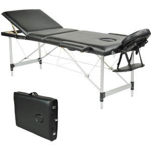 cdiscount table massage pliante aluminium