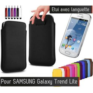 samsung galaxy trend etui achat vente pas cher cdiscount. Black Bedroom Furniture Sets. Home Design Ideas