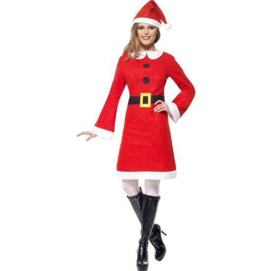 Costume Mère Noël pas cher   Achat / Vente déguisement   panoplie