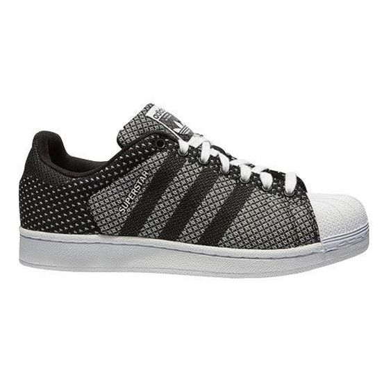 Adidas Originals Superstar Weave Noir / blanc - Cdiscount Chaussures