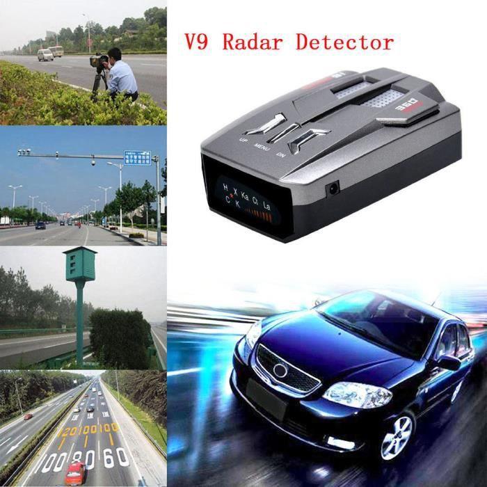 Car Camionneur Vitesse V9 Détecteur alerte vocale Avertissement 16 bande 360 degrés sahahhj0105
