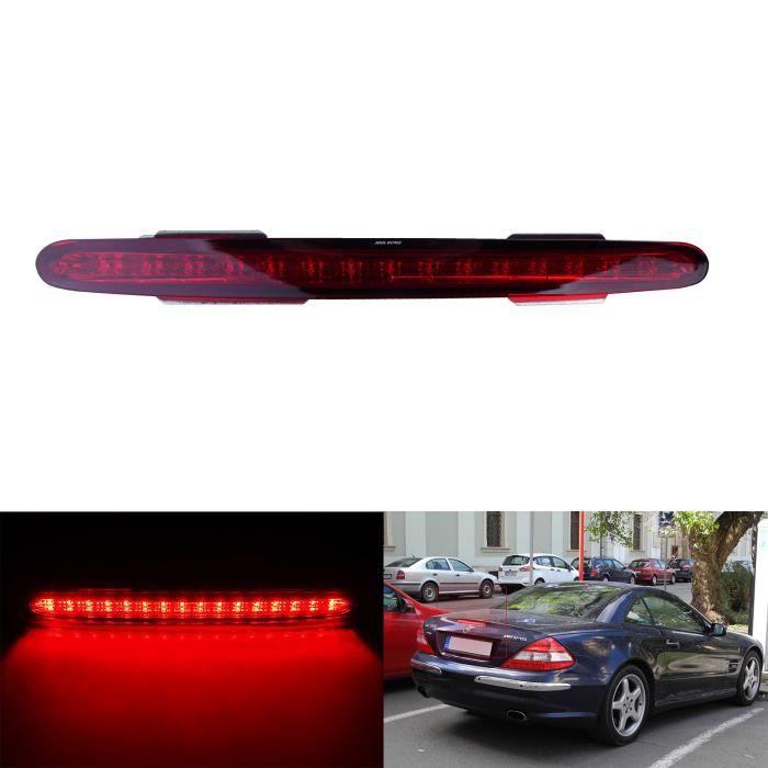 ANGRONG LED Rouge Feux de Stop Supplementaire Arriere Pour 2001-2012 Mercedes Benz Classe SL R230
