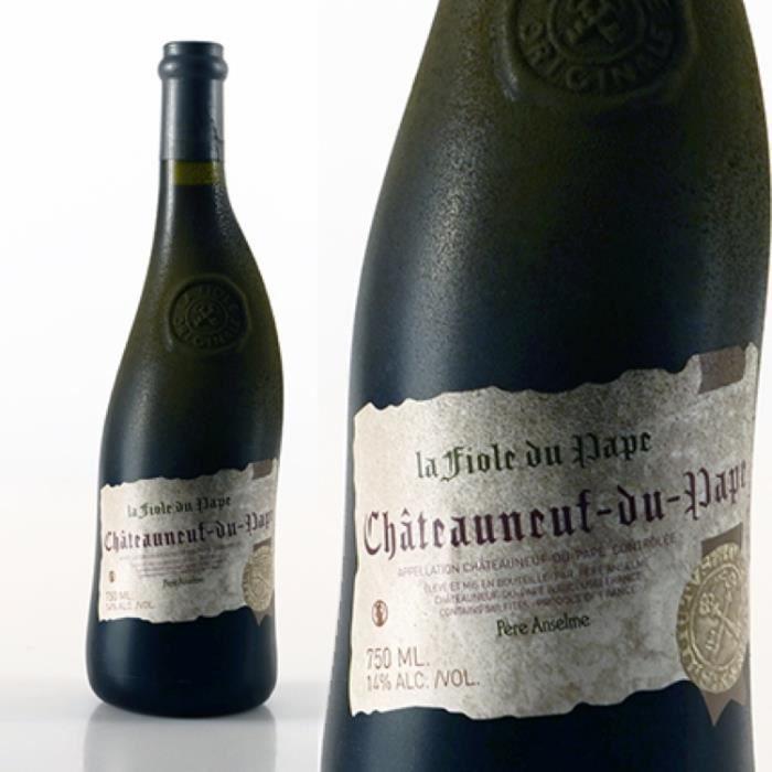 Vin - Châteauneuf-du-Pape la Fiole NV Rouge