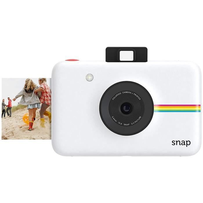 APPAREIL PHOTO NUMERIQUE COMPACT Polaroid Snap Instant Digital Camera (White) with ZINK Zero Ink Printing Technology157