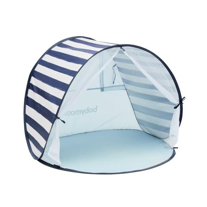 Babymoov Tente Anti-UV FPS 50+ Marinière - Moustiquaire intégrée
