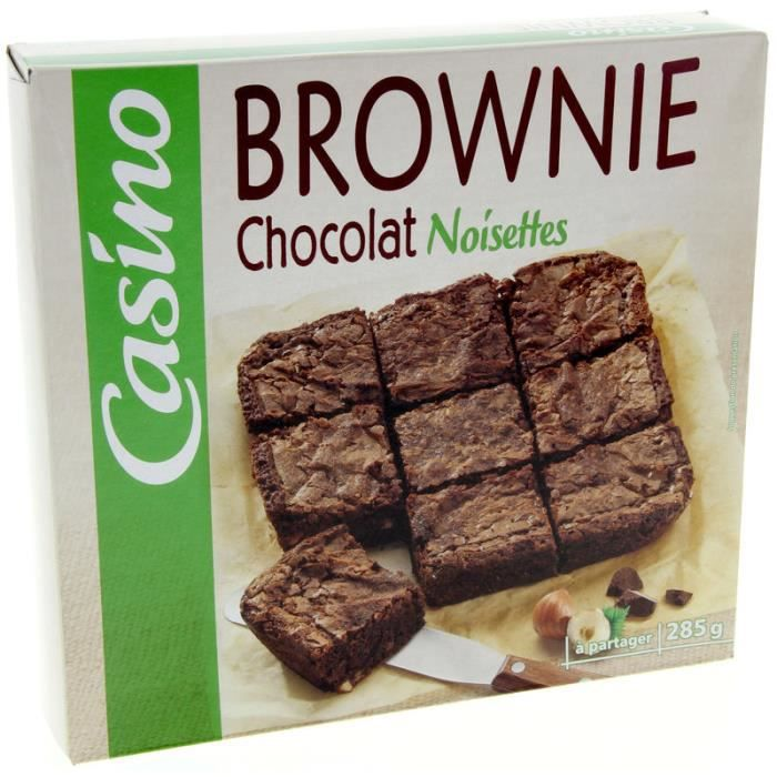 Brownie Chocolat noisettes - 285g