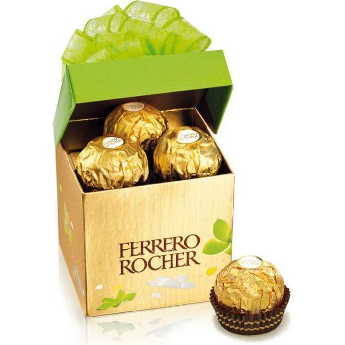 FERRERO Cube Ferrero Rocher x6 chocolats -75g
