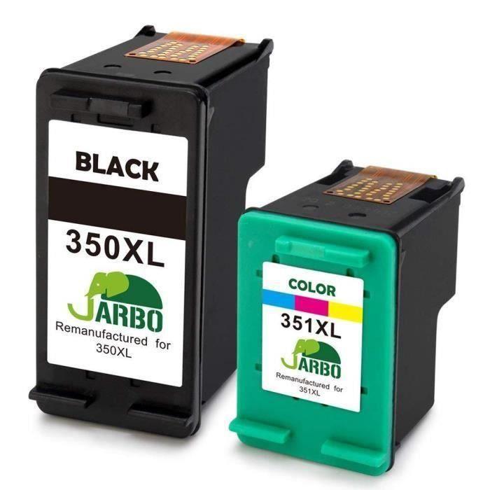 Compatible Cartouche encre HP 350 et 351 pour HP Photosmart C5288 C5290 C5293 C5500 C5550 C5580 HP Deskjet D4200 D4260 D4263 D4300 D