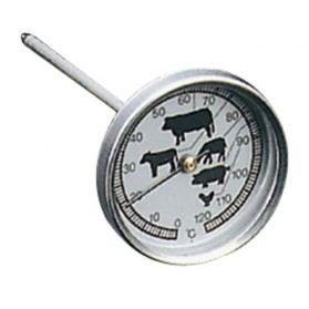 METALTEX Thermomètre de cuisson - 12 cm