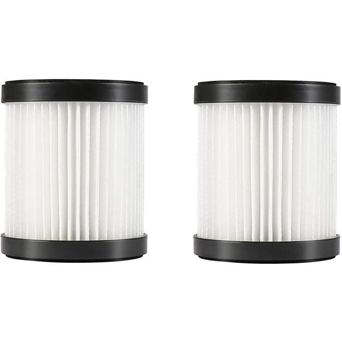 MooSoo 2 filtres HEPA et 2 manchons en filet pour aspirateurs sans fil X6 et X8
