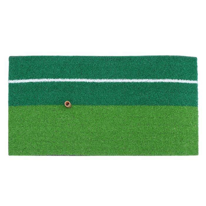 1 pc tapis de pratique de golf mini-golf intérieur extérieur aides à la formation pour le putting de copeaux BALLON DE FOOTBALL