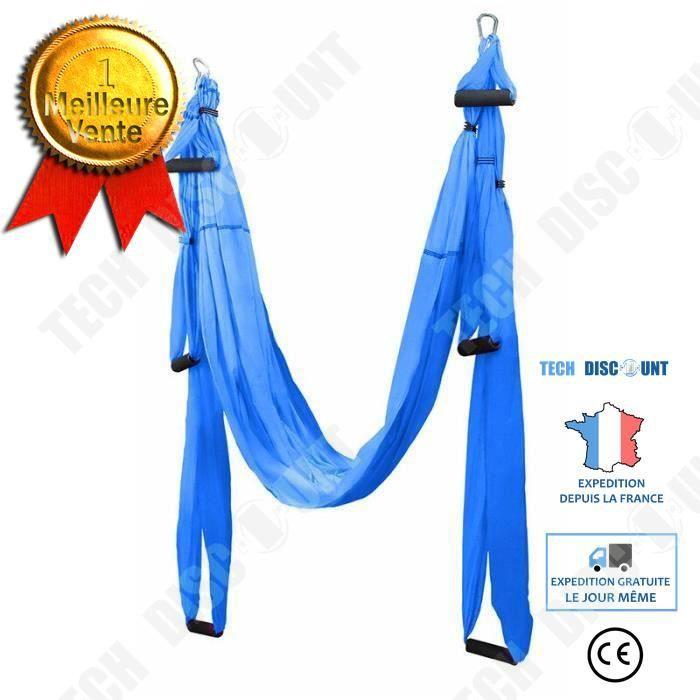 TD® Accessoires Fitness - Musculation,2020 nouveau hamac de Yoga aérien 6 poignées sangle gymnastique à domicile ceinture - Type Bul