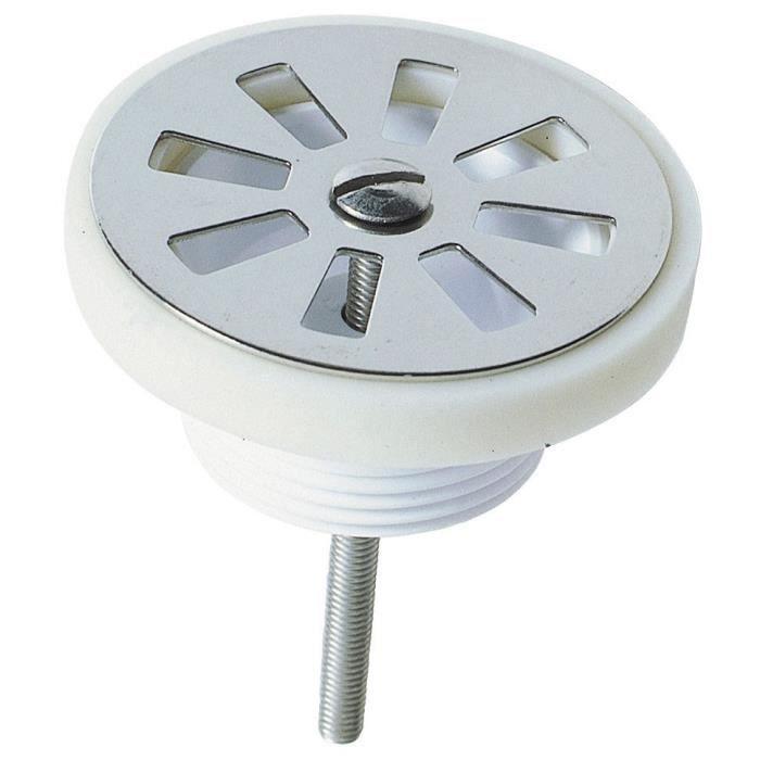 WIRQUIN Bonde de lavabo à écoulement libre - Grille plate