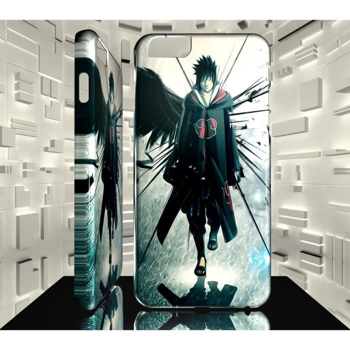 Coque Iphone 7 PLUS MAF Naruto Shippuden Sasuke Akatsuki 10 ...
