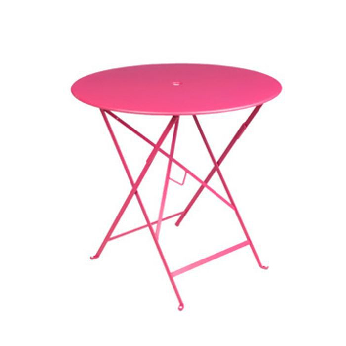 table bistro fushia achat vente table de jardin table bistro fushia cdiscount. Black Bedroom Furniture Sets. Home Design Ideas