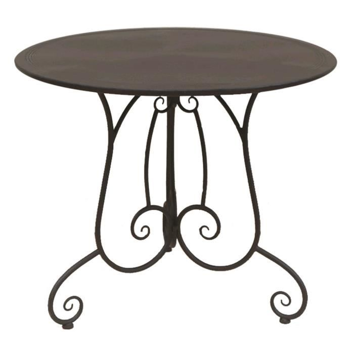 table de jardin fer forge charme achat vente table a manger seule table de jardin fer forge. Black Bedroom Furniture Sets. Home Design Ideas