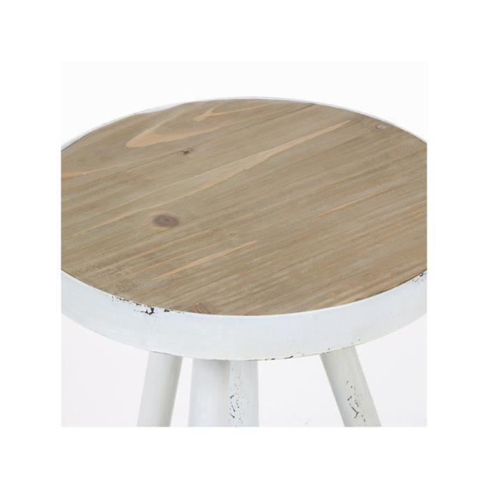 Table ronde d 39 appoint by craften wood achat vente - Table ronde d appoint ...