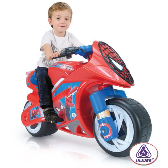 spiderman moto electrique enfant 6 volts achat vente moto scooter cdiscount. Black Bedroom Furniture Sets. Home Design Ideas