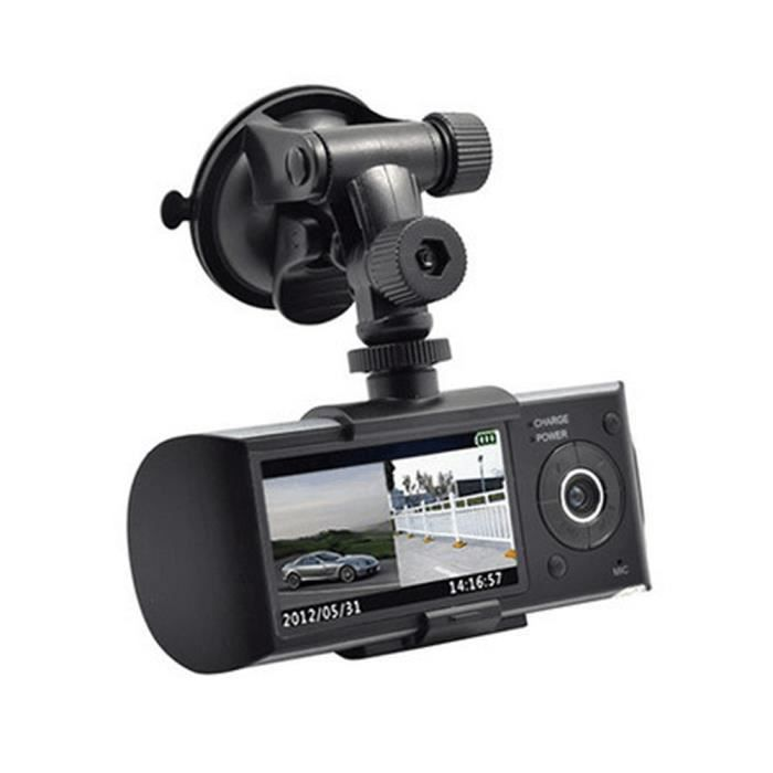 gps cam ra double cam ra hd voiture dvr dash cam. Black Bedroom Furniture Sets. Home Design Ideas