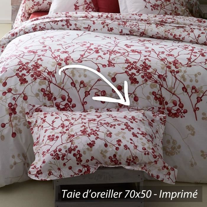 taie d 39 oreiller 70x50cm 100 coton bloom achat vente taie d 39 oreiller cdiscount. Black Bedroom Furniture Sets. Home Design Ideas
