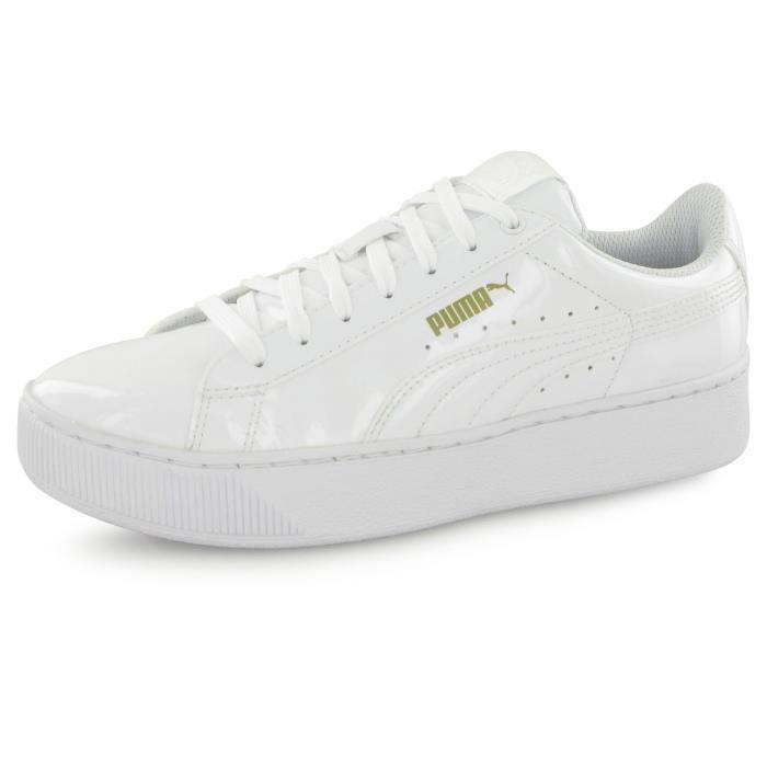 basket femme blanc puma