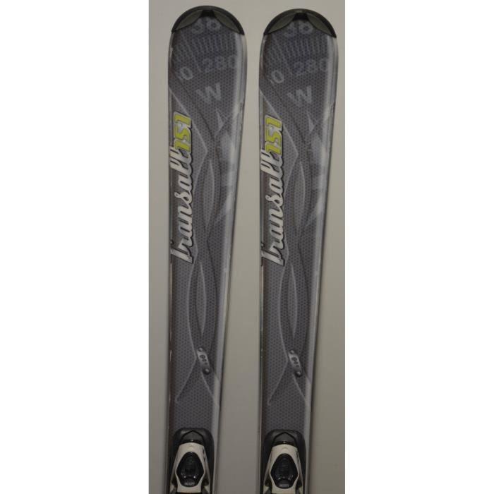 SKI Skis parabolique d'occasion WED'ZE Transall