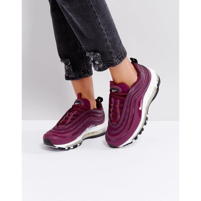 Nike Baskets Air Max 97 Premium Baskets Nike Bordeaux Chf9U 41 1 2 Rouge 29ff7a