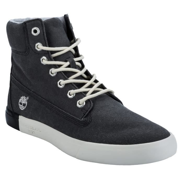 Chaussures Timberland Newport Bay 6 inch Canvas pour Hommes en Charbon jYzcYukZ