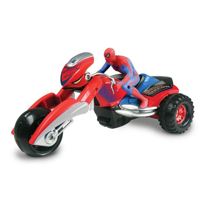 moto spider trike rc spiderman achat vente voiture camion cdiscount. Black Bedroom Furniture Sets. Home Design Ideas