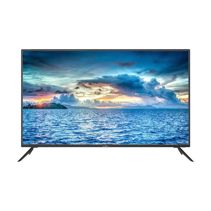 """Téléviseur LED SMARTTECH SMT-50P28USA22 50"""" 4K Ultra HD Smart TV-"""