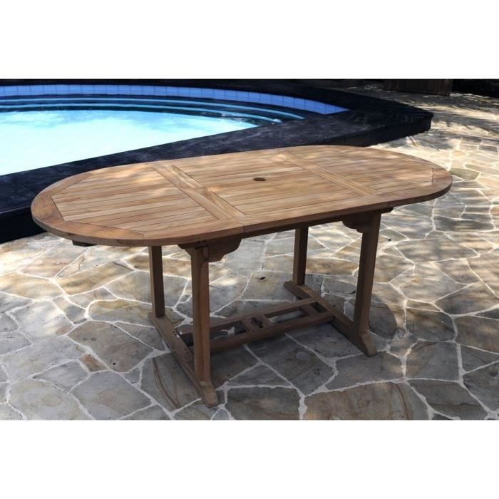 Table De Jardin En Teck Brut Table 8 Places Achat Vente Table De Jardin Table De Jardin En