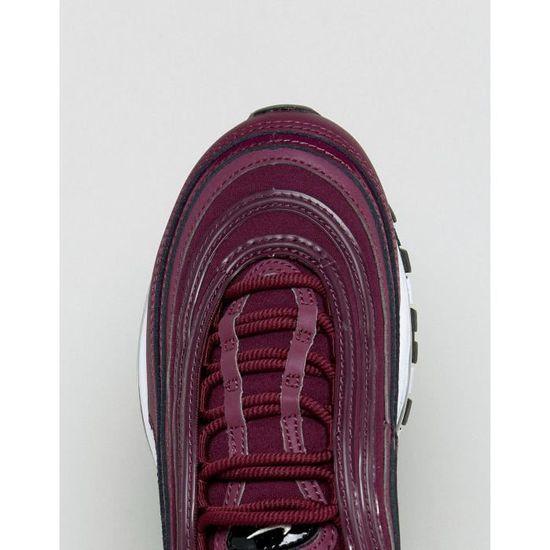 Nike Air Max 97 Premium - Baskets - Bordeaux CHF9U 41 1-2 Rouge ...