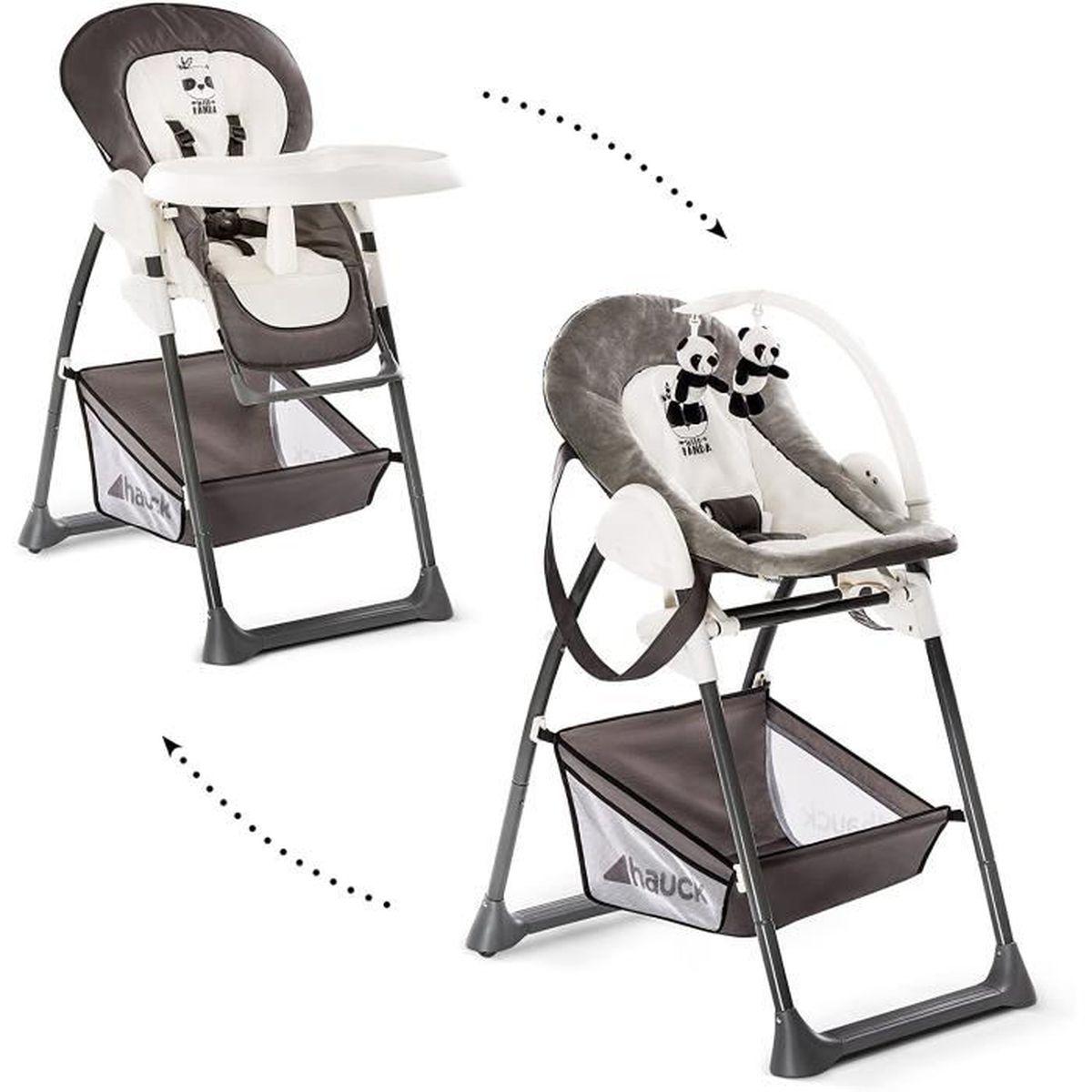 Hauck/ Sit N Relax/ Chaise Haute Bébé 5 en 5/ Transat Bébé et