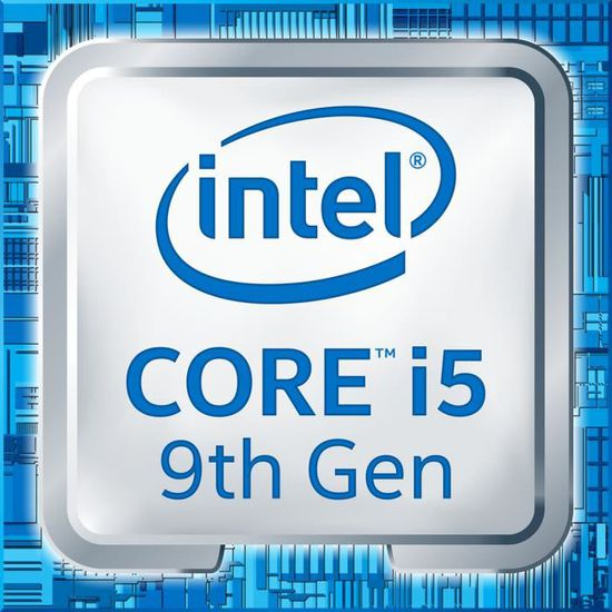 INTEL Processeur Core i5 (9th Gen) i5-9500F Hexa-core - 3 GHz Pack ...