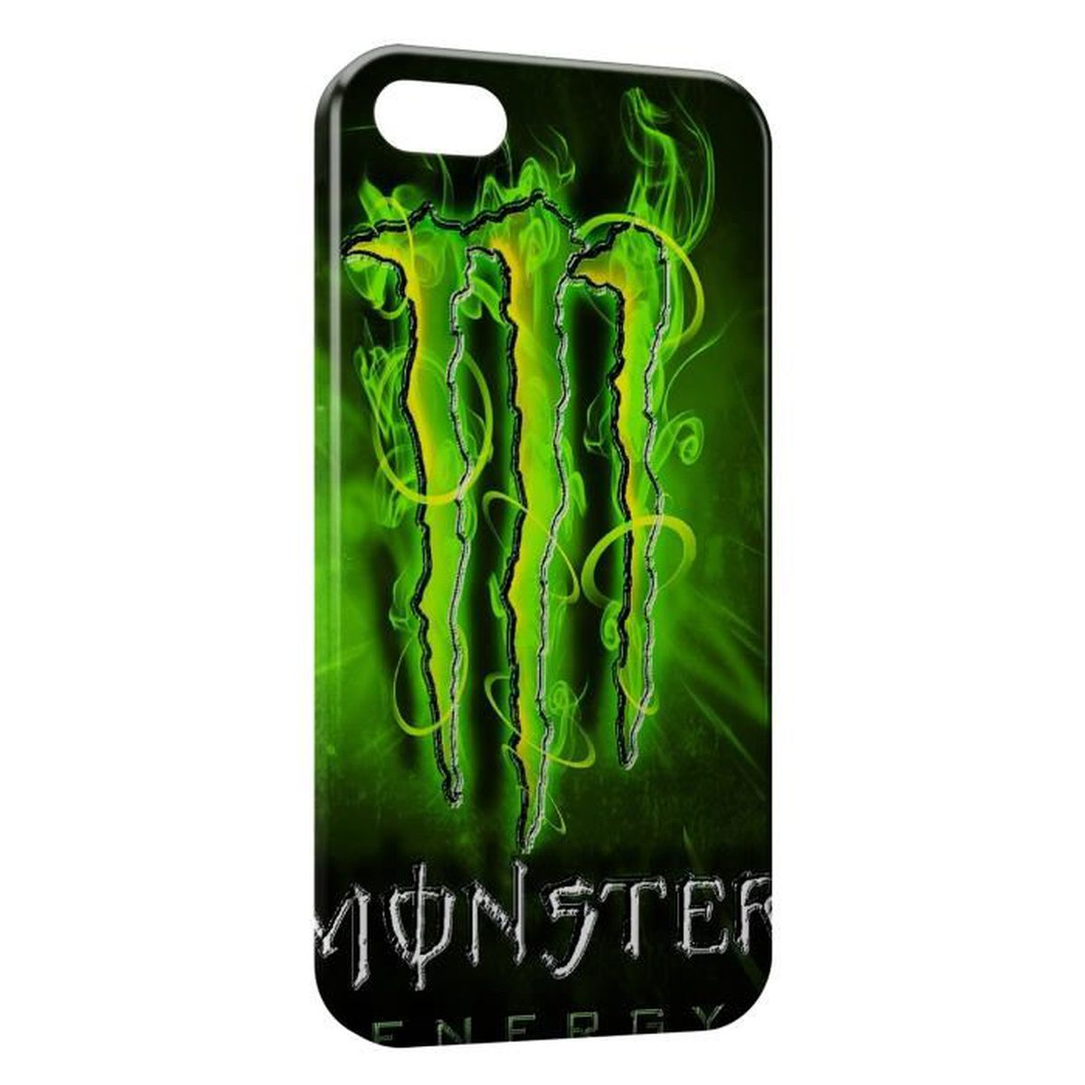 coque iphone 6 monster energy new green