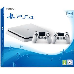 CONSOLE PS4 SONY COMPUTER Pack PS4 500 Go + 2 Manettes DualSho