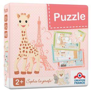 PUZZLE SOPHIE LA GIRAFE Puzzle 6 Pièces - Jeu de Société