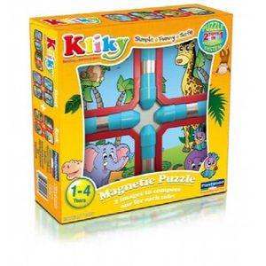 PUZZLE Plastwood 0026 - Puzzle Kliky Animaux De Safari, J