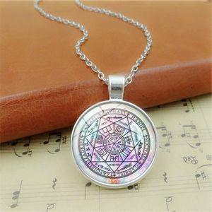 120 Oeil De Horus pendentif 925 Argent Ange Gardien Amulette D/'Horus No