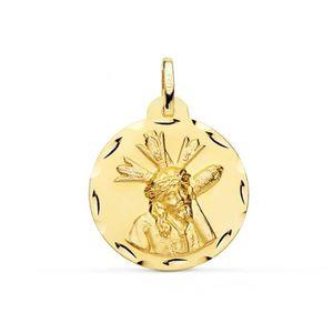 /Gold Plated /925/Sterling Silver Ecce Homo Medal/ M/édaille Ecce Homo en argent 925/plaqu/é or/